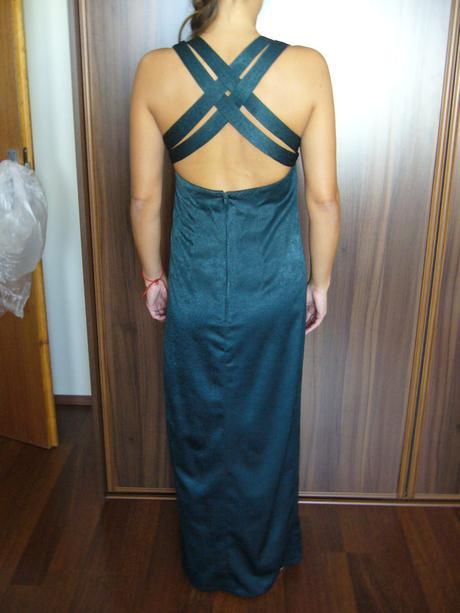 spoločenské šaty olivovozelene , 38