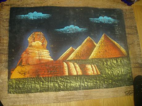 obraz na papiruse,
