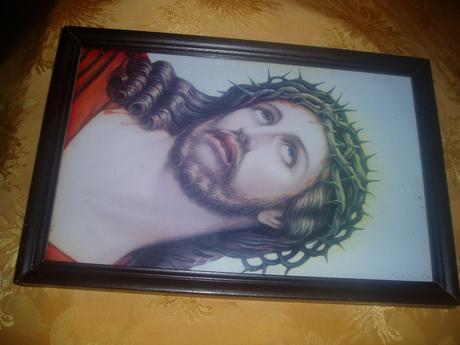 svätý obraz ukrižovanéhoJežiša,