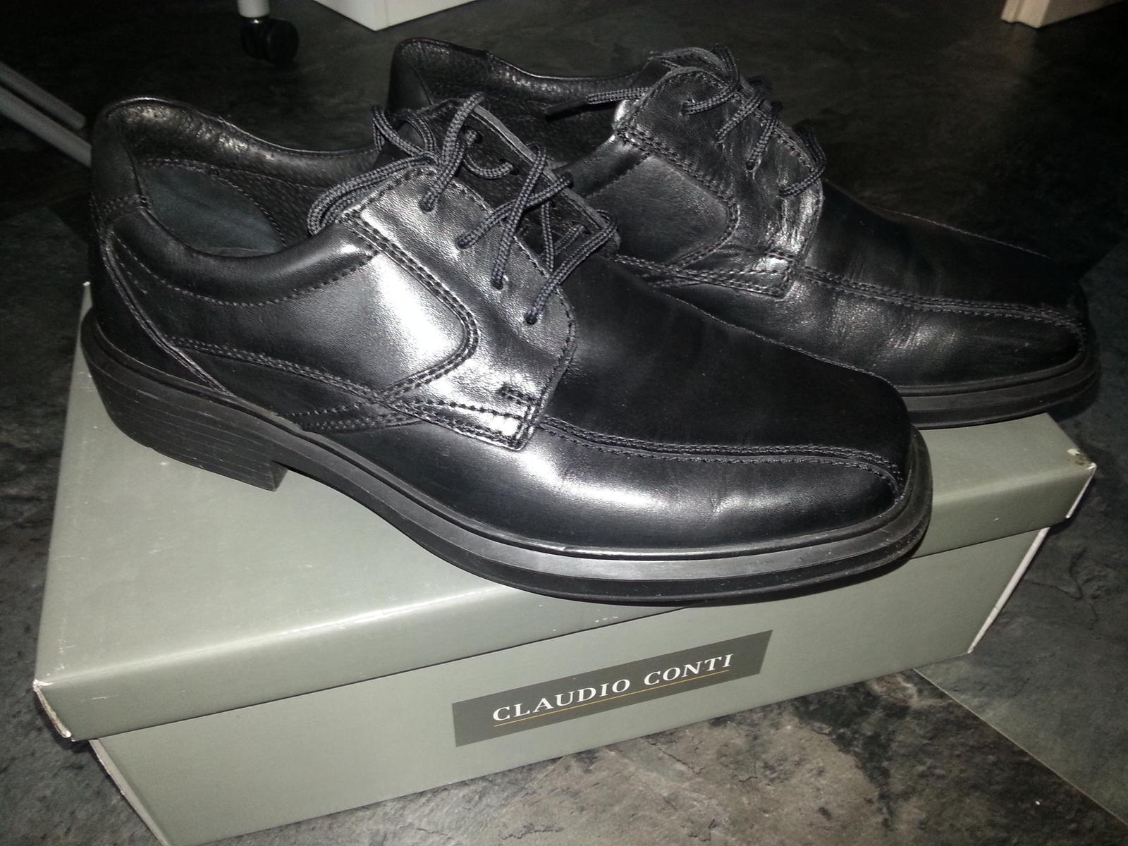 Pánské kožené boty claudio conti 35f19bb0b3