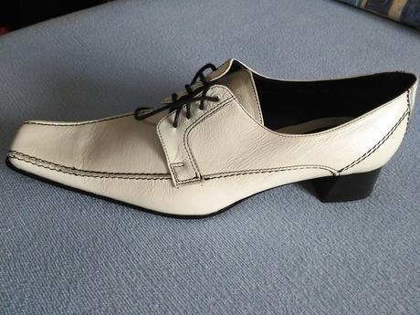 Elegantní kožené boty Mrs. Lady, vel. 40, 40
