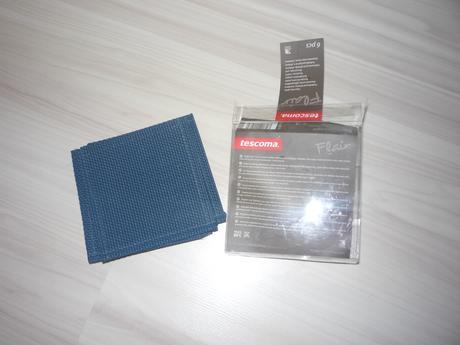 Podložky pod poháre Tescoma, slivkovo modré,6 ks,