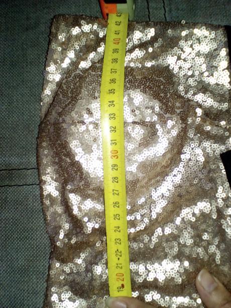 peplum saty, XL