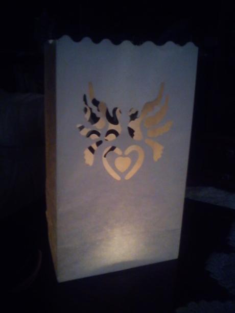 Svadobné lampióny,