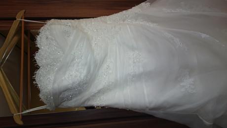 Svadobné šaty LA SPOSA velkost 40 - 44, 44