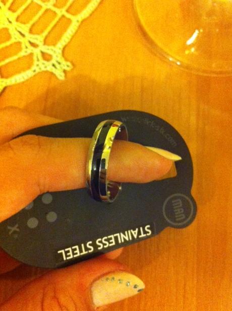 Pánsky prsteň,
