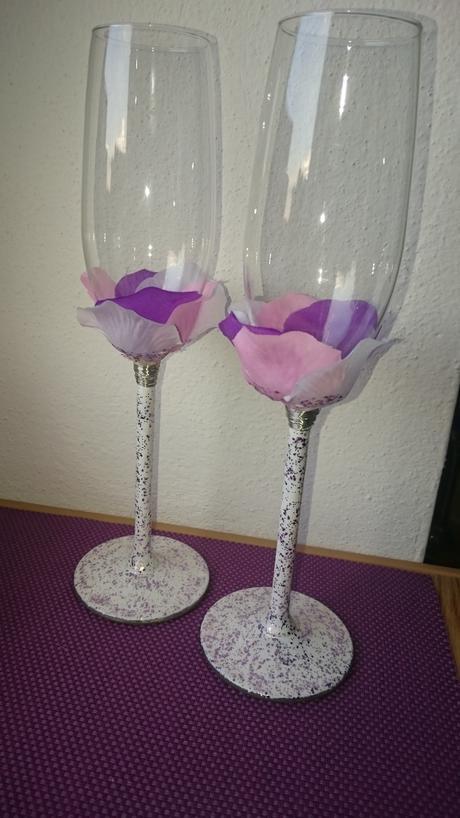 Přípitkové sklenice pro novomanžele,
