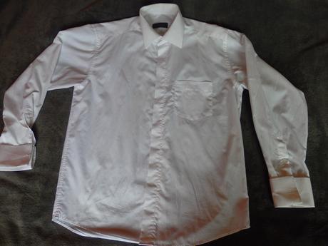 Pánska biela košela L Paco Romano , L