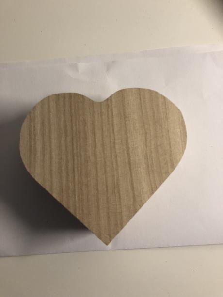 Krabicka na prstynky - srdce,