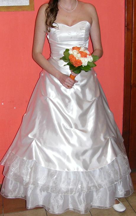 Svadobné šaty, 38-42, 40