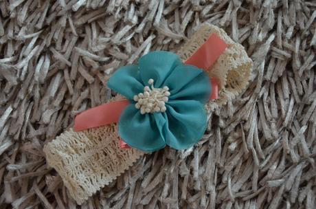 Kvetinová čelenka - nepoužívaná, 80