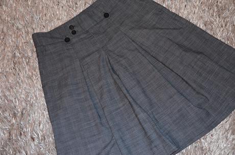 Trendy nohavicová sukňa 40-42 nenosená, 40