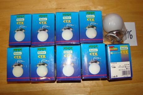 9 ks podhľadových svietidiel CTX-30+G ,