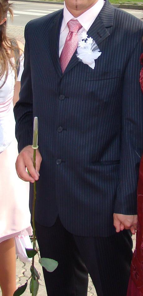 Pánsky oblek 1x oblečený zn. Alain Delon, 50