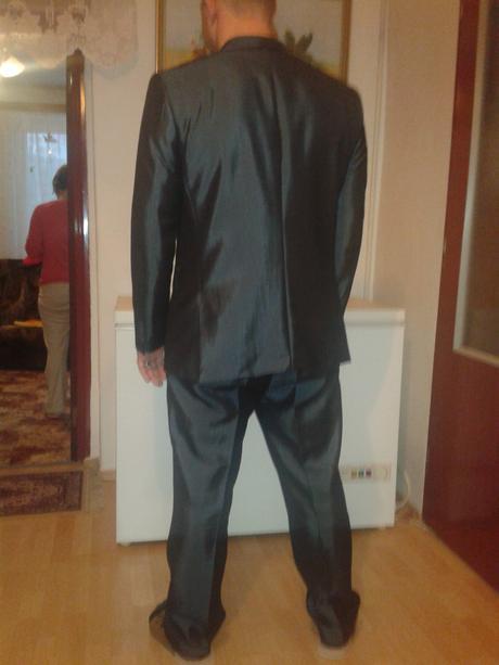 Pánsky oblek zn. Alain Delon top stav, 54