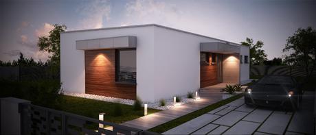 Ewi - projekt rodinného domu,