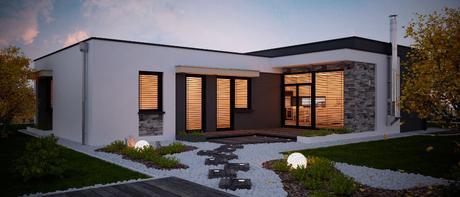 Gitaa - projekt rodinného domu,