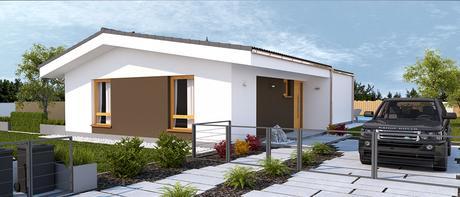 Guqin - projekt rodinného domu,
