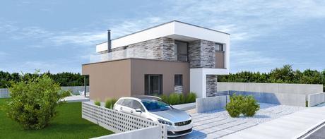 Marimba - projekt rodinného domu,
