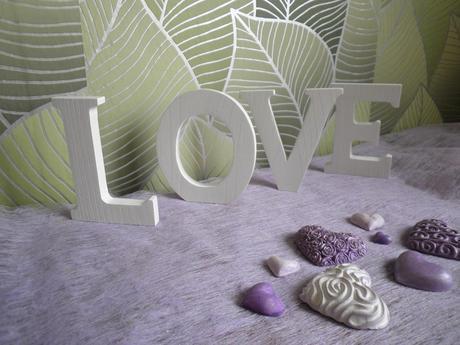 Srdce fialová,nová,