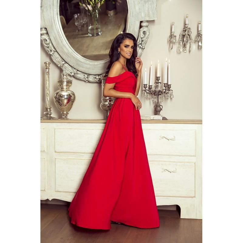 484ad92b80c9 Spoločenské šaty dlhé elizabeth červené veľ. m