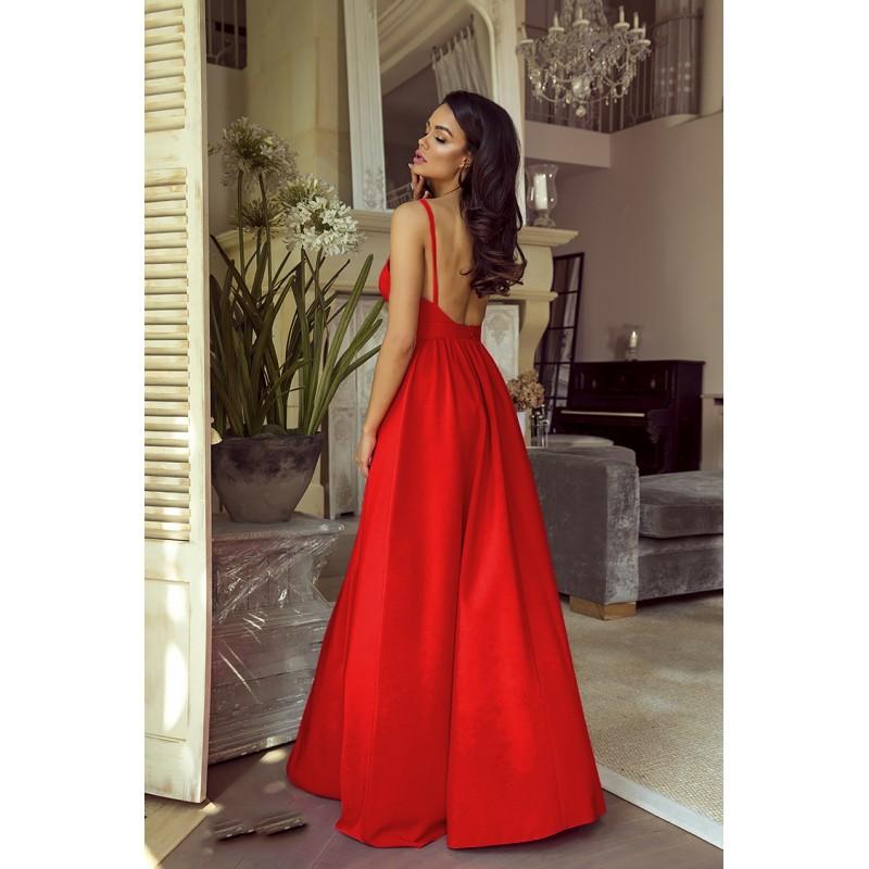 Spoločenské šaty dlhé meggie červené veľ. s 77cfbd0fc8