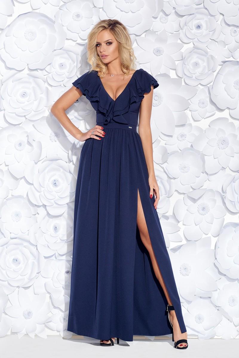 Spoločenské šaty maxine tmavomodré veľ. l b37336f4bb