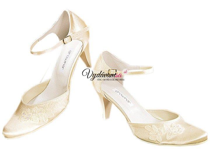 4d025605a2f4 Svadobné topánky growikar 217 44 - výpredaj
