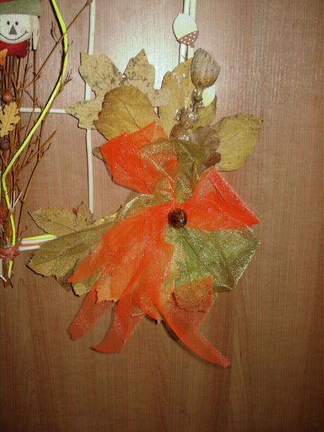 jesenná dekorácia,