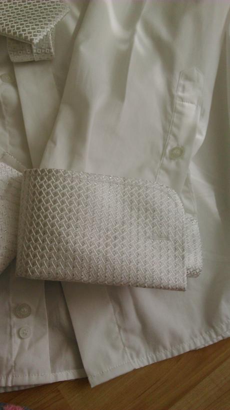 luxusná svadobná košeľa, 44