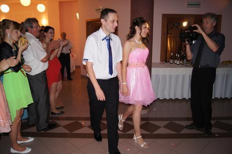 Koktejlové ružové šaty Kristy, 36