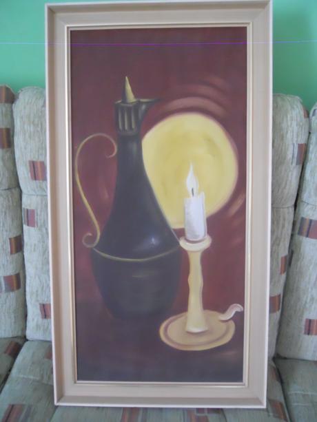 obraz sviečka,