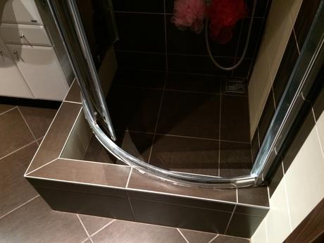 sprchový kút,