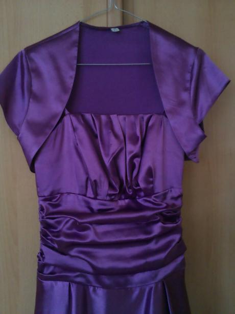 Spoločenské šaty s bolerkom+darček, 36