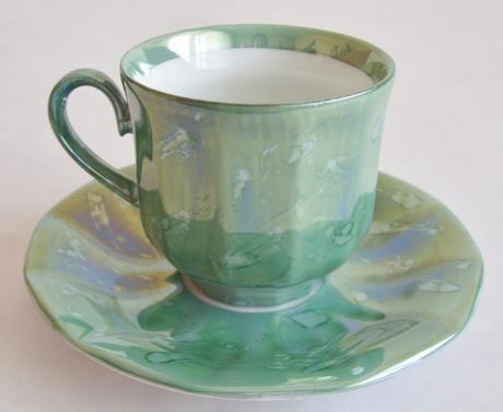 Kávové šálky zelené,
