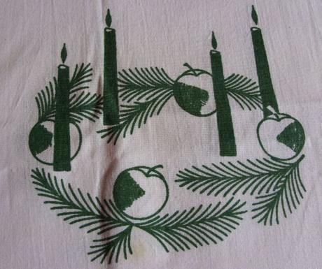 Obrus vianočný ,