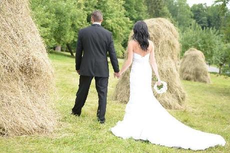 Luxusní svatební šaty Adorae , 36