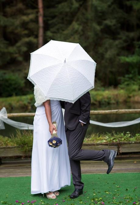 Krajkové paraple na svatbu nebo focení,