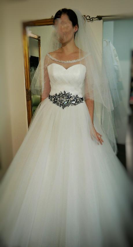 Nenosené svadobné šaty zn SPOSA 36 , 36