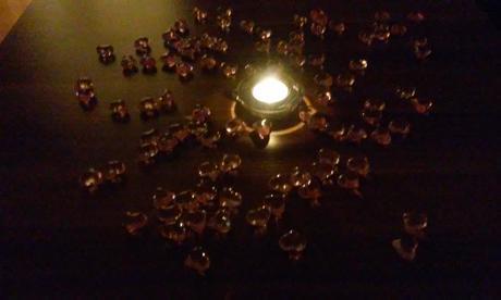 srdiečka na svadobný stôl ,