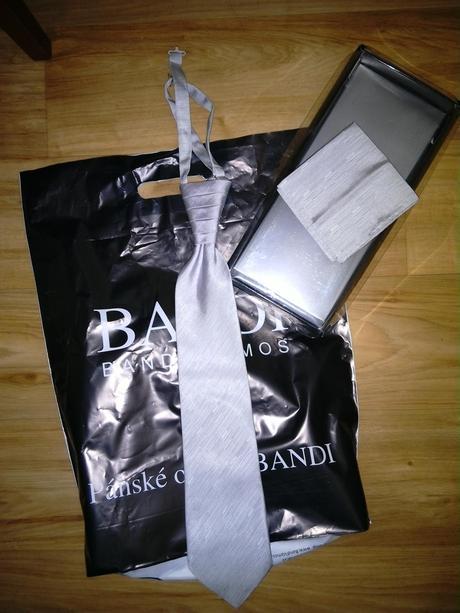 Svatební regata (kravata) Bandi,