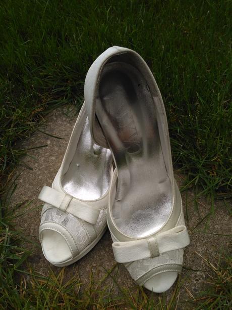 Svatební boty s mašlí, 38
