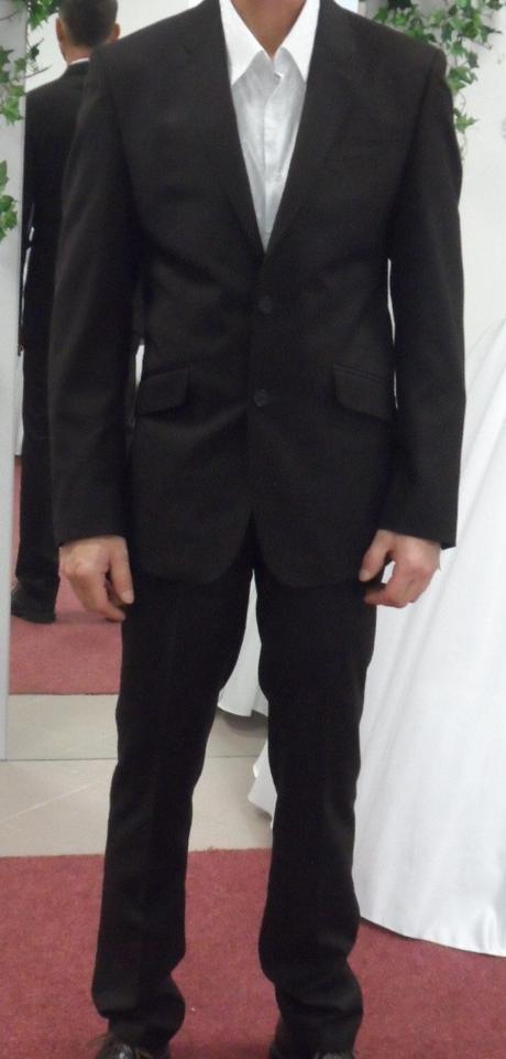 pánský oblek velikost, 48