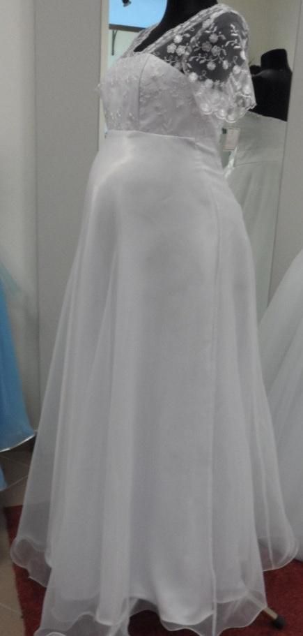 svatební šaty pro těhulky, 38