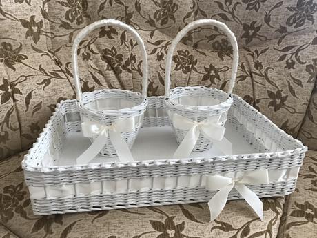 Svadobné košíky,