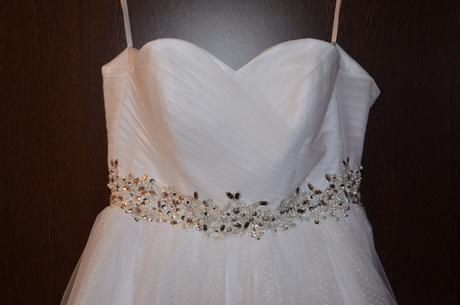 Vintage šaty, tylová sukně -  jen vybalené, 38