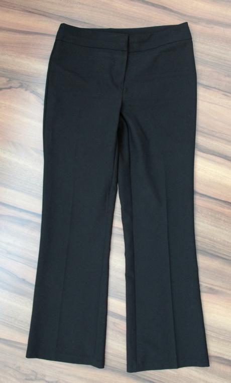 Elegantné nohavice na nižšiu postavu, 36