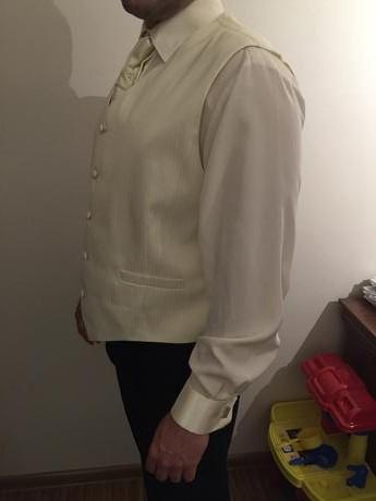 svadobna vesta s francuzskou kravatou, 54