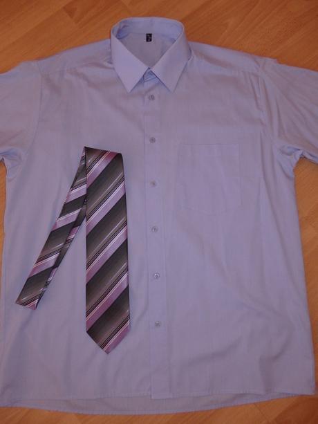 košeľa + kravata, 42