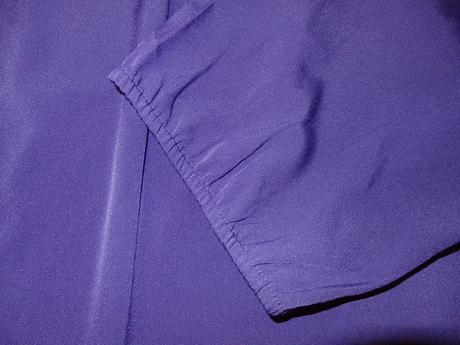 slivkovo fialová blúzka, XXL